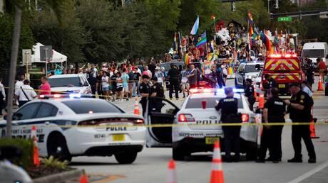 قتيل جراء دهس سيارة مسيرة للمثليين في فلوريدا الأمريكية
