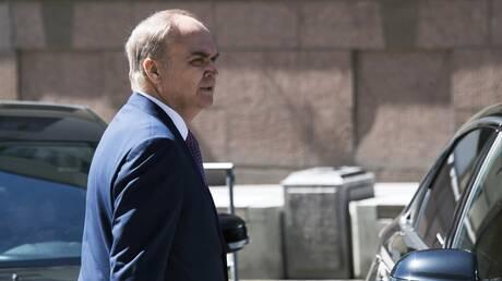 وسائل إعلام روسية: سفير موسكو يعود إلى واشنطن اليوم الأحد