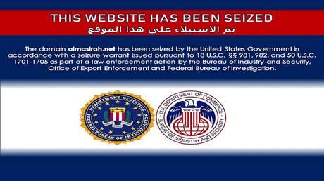 """لمواجهة """"المعلومات المضللة"""".. الولايات المتحدة تحجب 36 موقعا إعلاميا مرتبطا بإيران"""