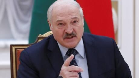 """لوكاشينكو ينعت أعضاء الناتو بـ""""المنافقين والأوغاد"""""""