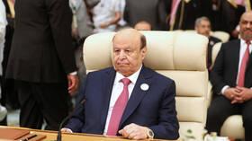 الرئيس اليمني بعد قصف مأرب: الحوثيون يواصلون خدمة مشاريع إيران التدميرية