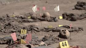السلطات العراقية تستخرج رفات 123 مدنيا قتلهم