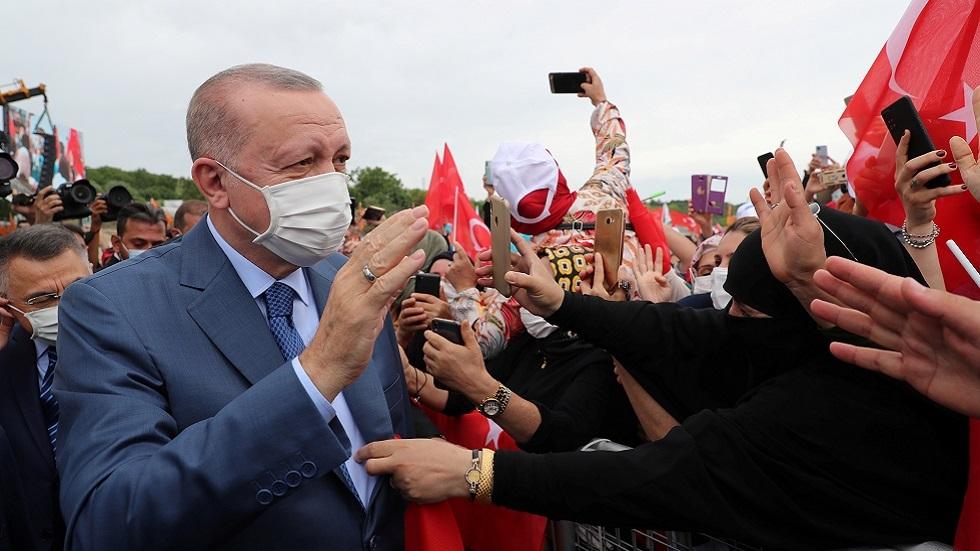 أردوغان: كفاحنا لإنهاء العنف ضد المرأة لم يبدأ مع