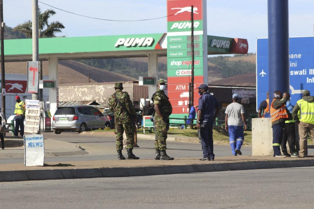 سلطات إسواتيني تنفي فرض الأحكام العرفية في البلاد