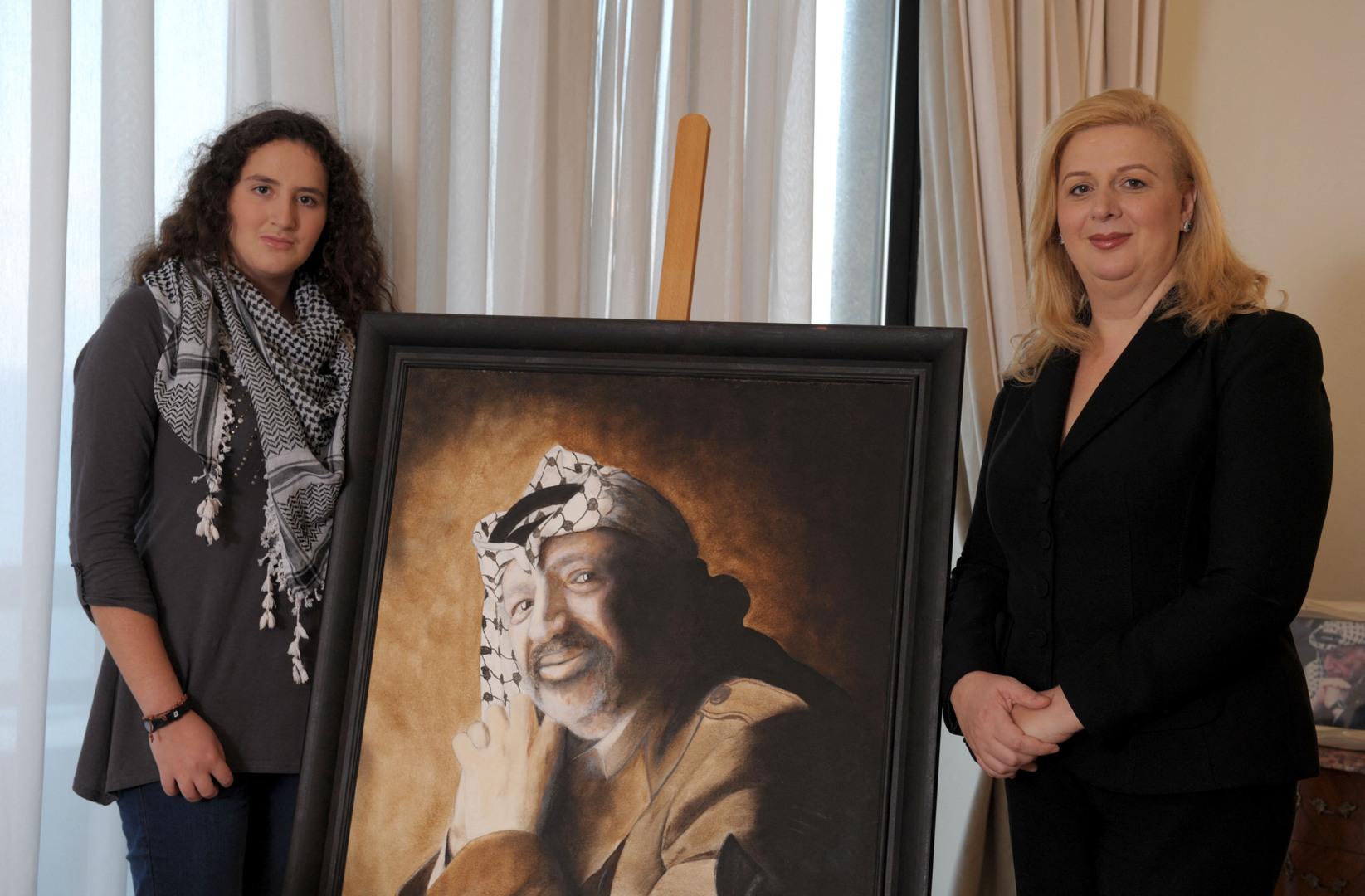 المحكمة الأوروبية لحقوق الإنسان ترفض طلب أرملة عرفات وابنته التحقيق في وفاته