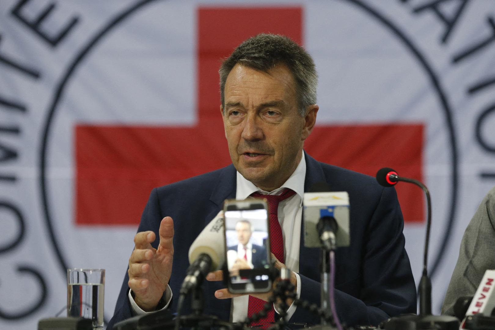 رئيس اللجنة الدولية للصليب الأحمر بيتر ماورير