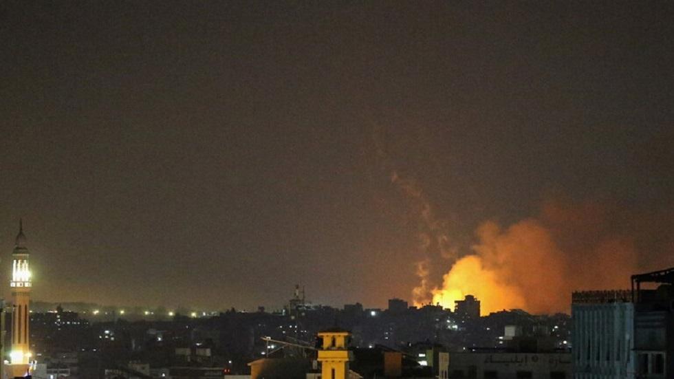 الجيش الإسرائيلي ينشر فيديو للقصف الذي استهدف