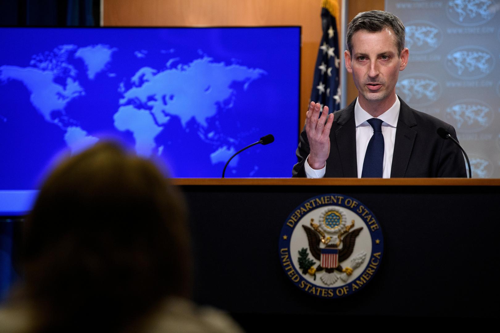 الخارجية الأمريكية تدين حكم القضاء الروسي بسجن عضوين من