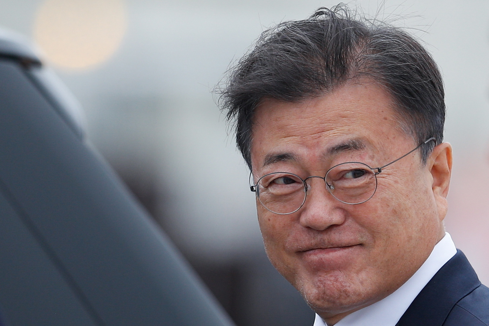الرئيس الكوري الجنوبي مون جاي إن