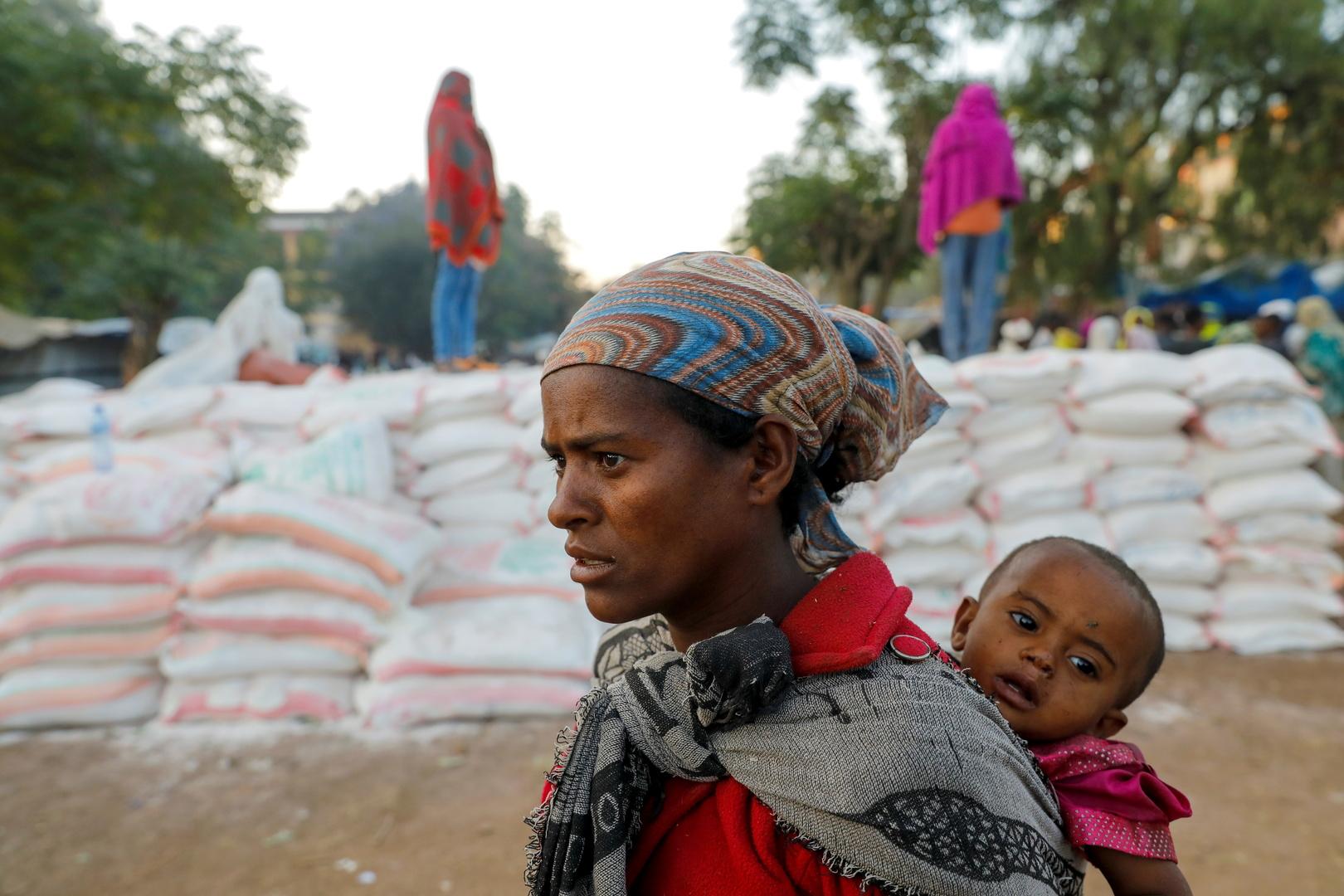 برنامج الأغذية العالمي يعلن استئناف توصيل الغذاء إلى إقليم تيغراي
