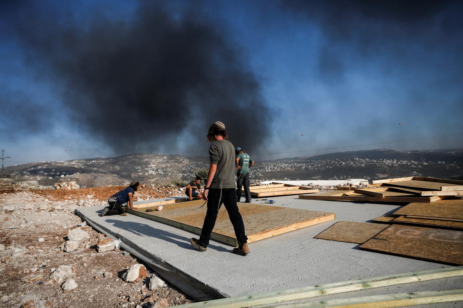 مواجهات بين الفلسطينيين والجيش الإسرائيلي في بلدة بيتا
