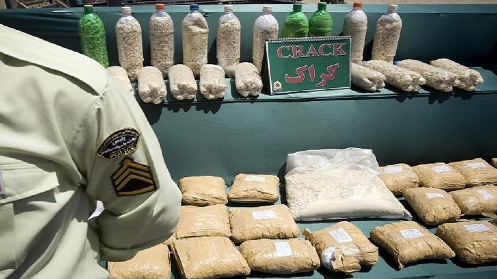 إيران.. ضبط 750 كغ من المخدرات في سيستان وبلوجستان