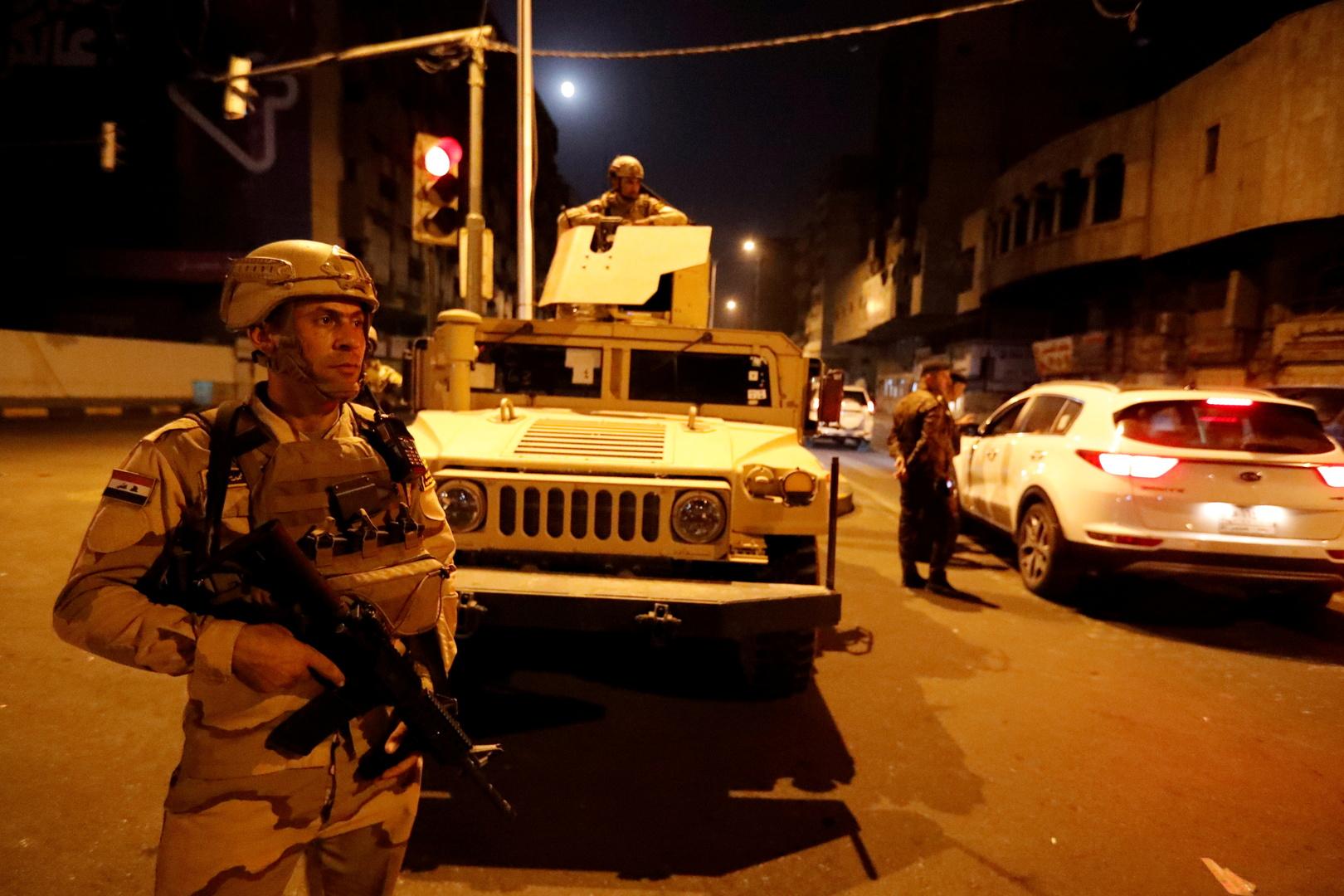 مراسلنا: العثور على 10 صواريخ في بغداد كانت معدة لاستهداف مقار أمريكية