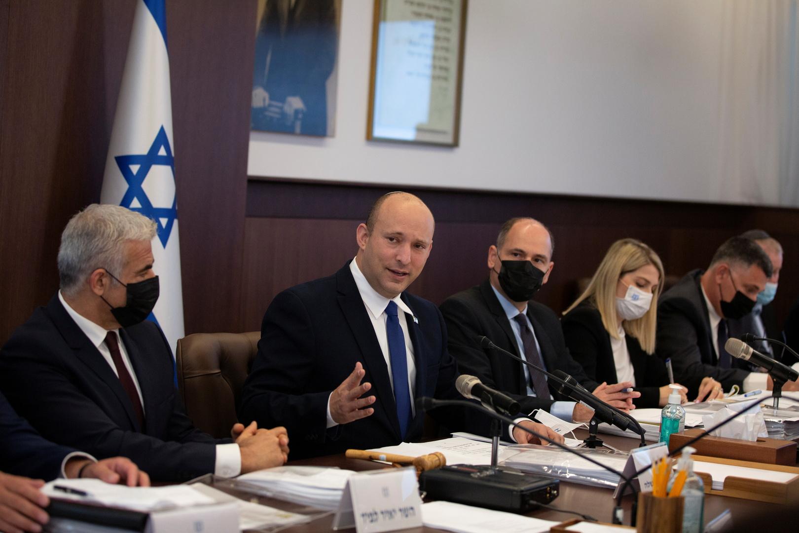 تقارير: تشديد الحماية لوزراء بالحكومة الإسرائيلية بعد تهديدات بالقتل