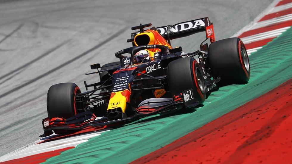 الهولندي فرستابن الأسرع في جولة التجارب الأخيرة بجائزة النمسا للفورمولا 1