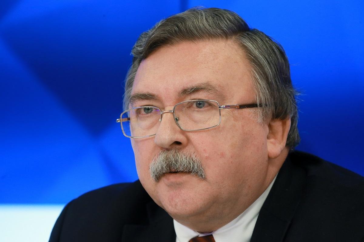 مندوب روسيا الدائم لدى المنظمات الدولية في فيينا ميخائيل أوليانوف