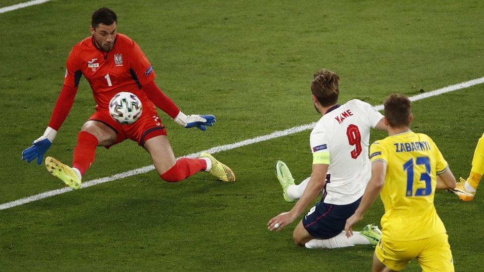 أمم أوروبا.. إنجلترا تفاجئ أوكرانيا بهدف مبكر في ربع النهائي (فيديو)