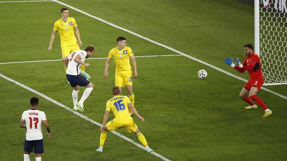 إنجلترا أول منتخب في تاريخ بطولات أمم أوروبا يسجل ثلاثة أهداف رأسية في مباراة واحدة