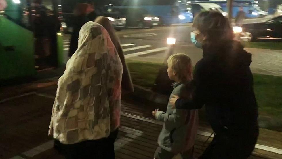 عودة دفعة من الأطفال الروس من سوريا (صورة أرشيفية)