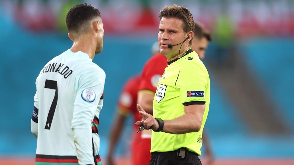 الكشف عن حكم المباراة النارية بين إيطاليا وإسبانيا في نصف نهائي أمم أوروبا