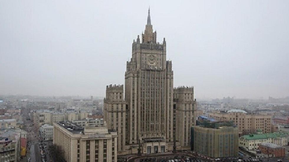 الخارجية الروسية: لافرينتيف وفيرشينين بحثا مع بيدرسن التسوية السورية
