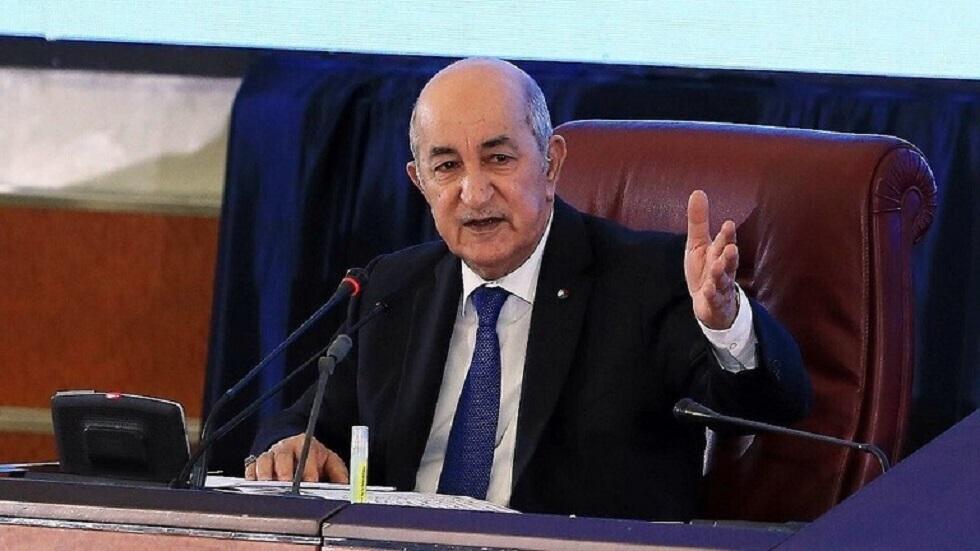 تبون: سنتصدى بقوة وحزم لكل من يتطاول على الجزائر