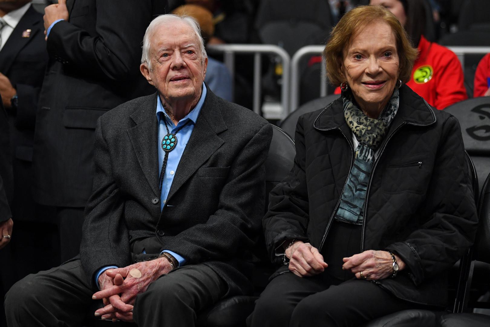بعد 75 عاما من الزواج.. جيمي وروزالين كارتر يتحدثان عن زواجهما