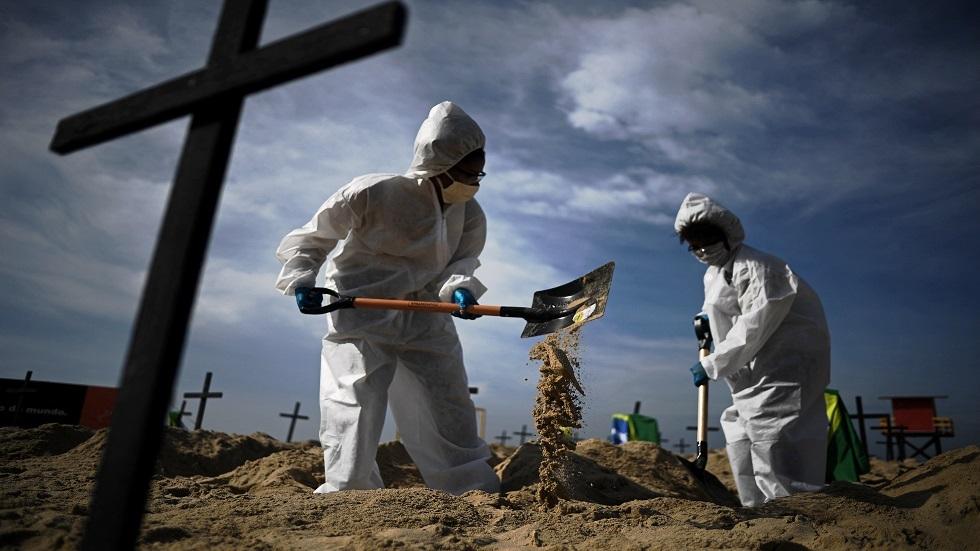 وفيات كورونا في البرازيل تتجاوز الـ525 ألف حالة