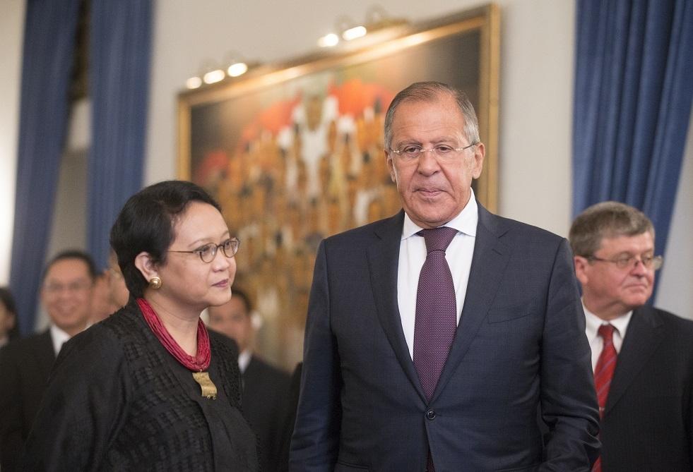 وزيرا خارجية روسيا وإندونيسيا يناقشان زيارة بوتين المحتملة إلى جاكرتا