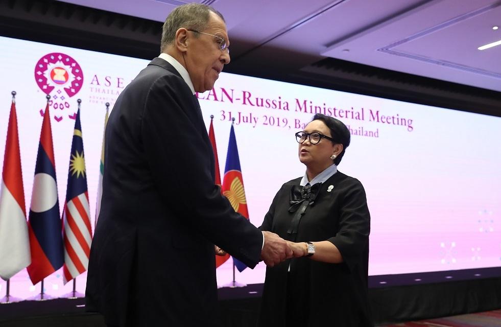 روسيا تؤيد إنشاء منطقة تجارة حرة بين الاتحاد الاقتصادي الأوراسي وإندونيسيا