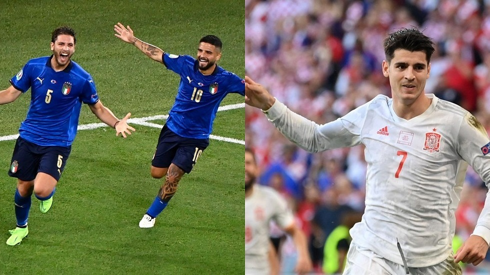 كل ما تريد معرفته عن موقعة إسبانيا وإيطاليا في نصف نهائي كأس أوروبا
