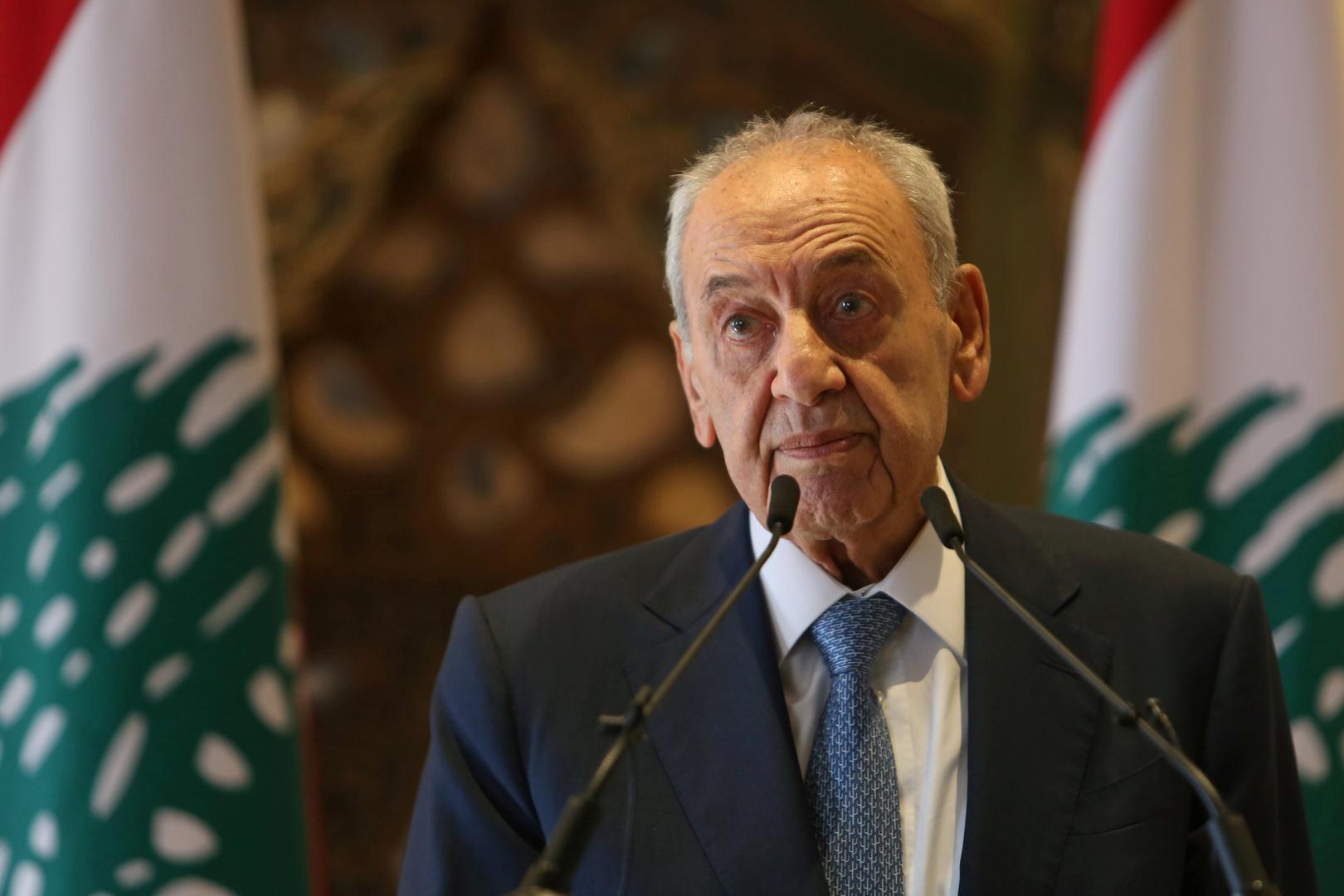 موقع لبناني: بري يؤكد أن الحسم في ملف الحكومة صار ضرورة قصوى