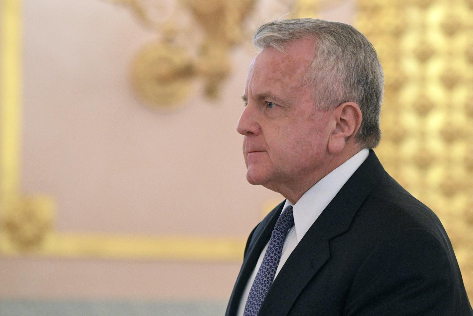 السفير الأمريكي لدى روسيا يعرب عن تعازيه في حادث تحطم طائرة كامتشاتكا