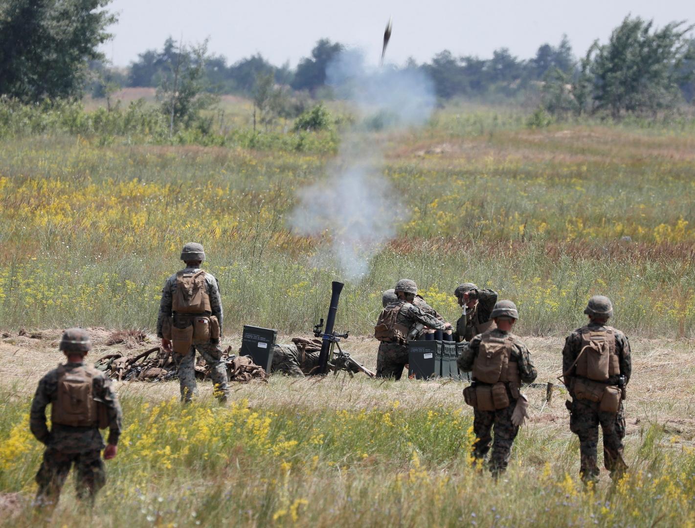 كييف تعلن خططها لإجراء تدريبات جديدة مشتركة مع الناتو في أوكرانيا