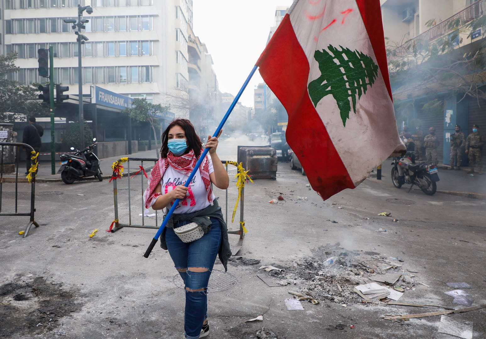 البرادعي يتساءل عن طريقة لإنقاذ لبنان