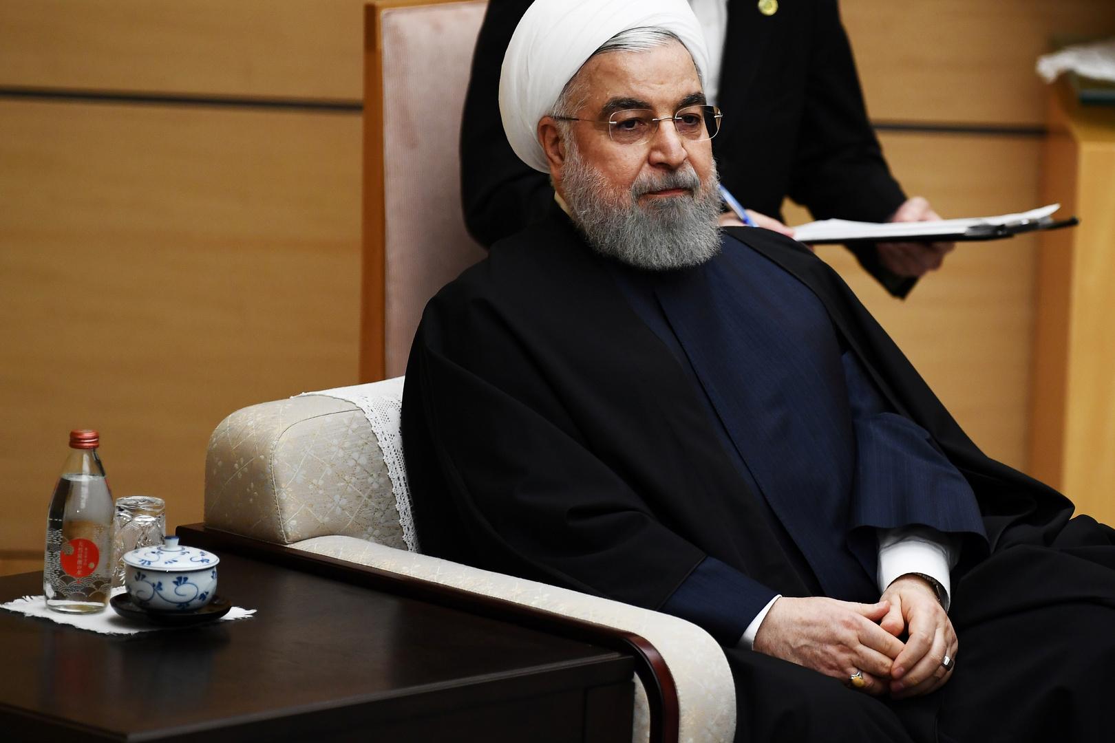 روحاني يقدم اعتذاره للشعب الإيراني