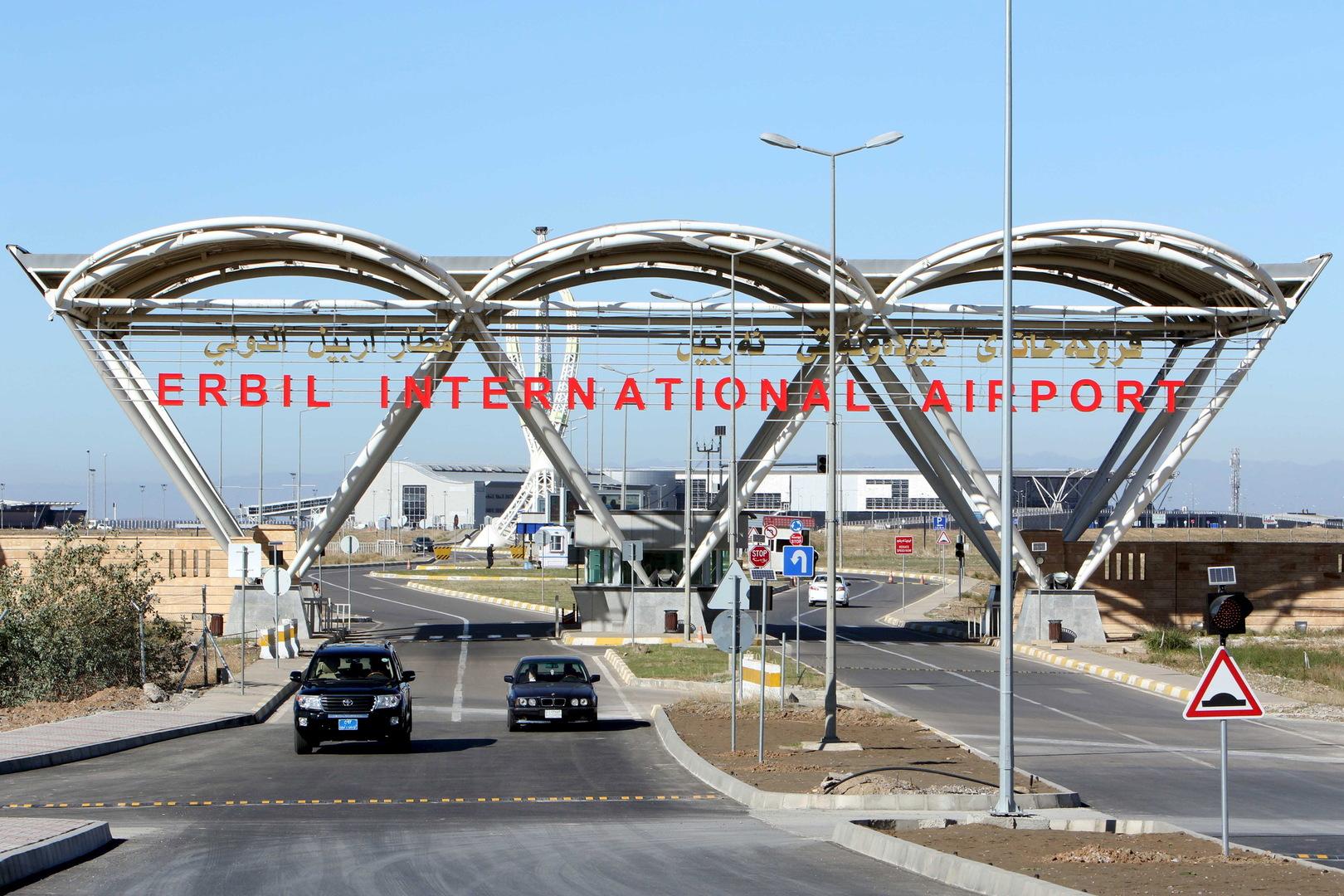 مراسلنا: عودة الملاحة إلى مطار أربيل بعد الهجوم الذي طاله