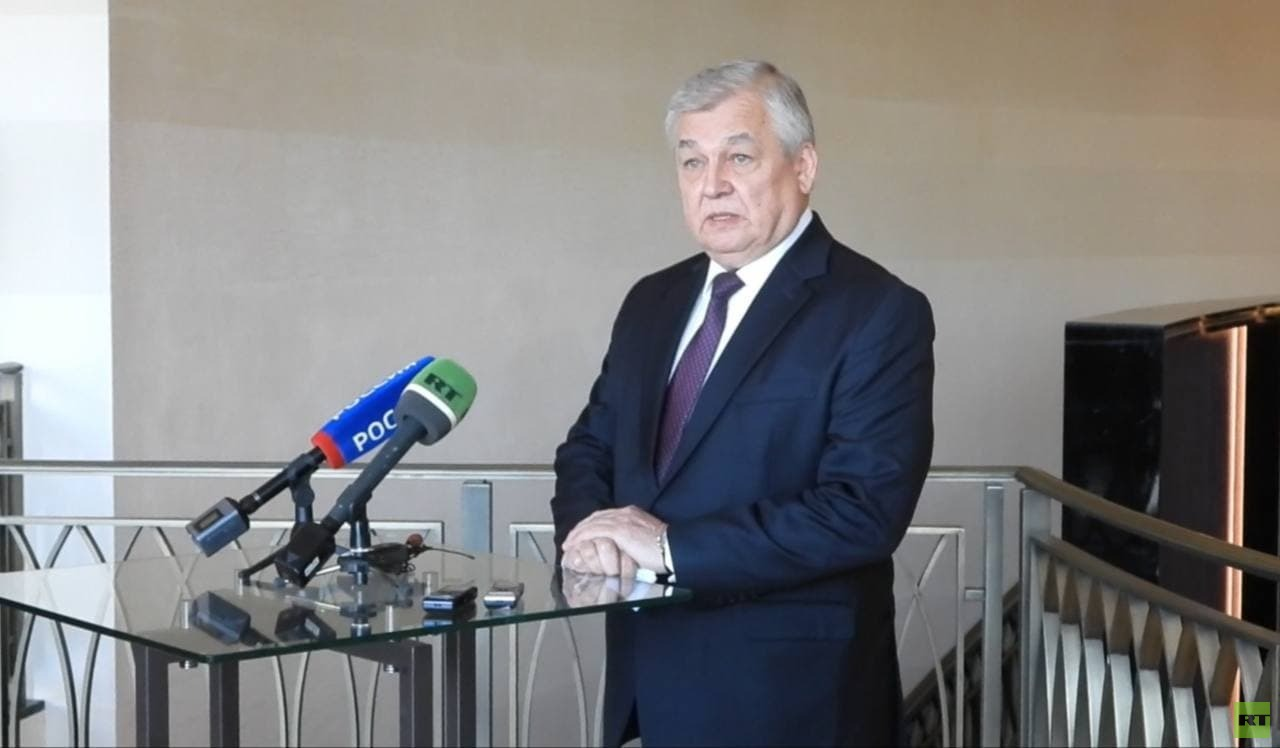 لافرينتيف: نطالب بوقف عمل آلية إيصال المساعدات عبر الحدود وعدم تمديد التفويض
