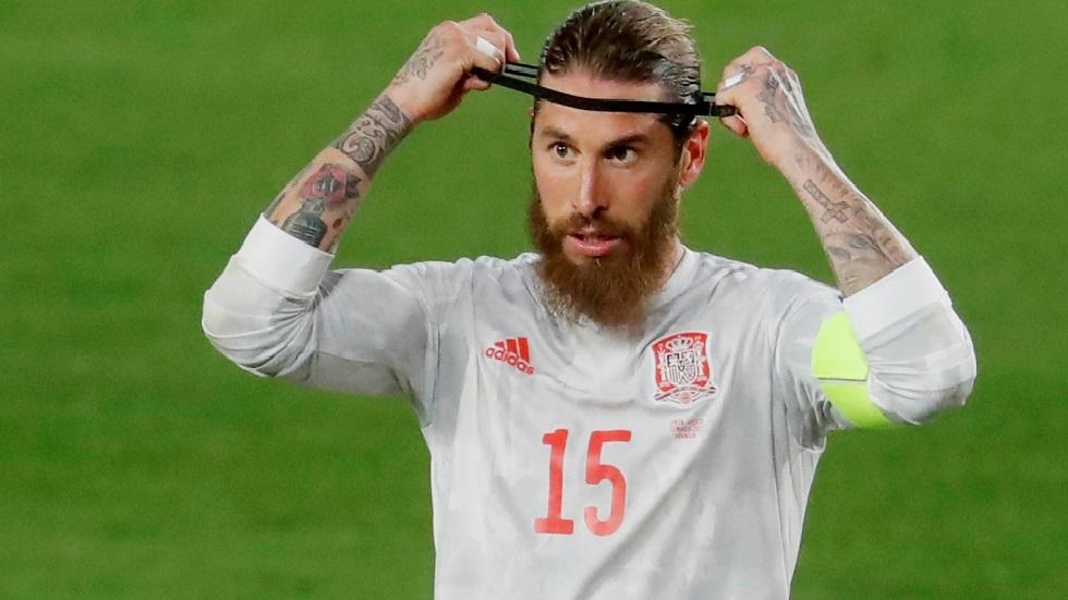ينشر راموس تغريدة مؤثرة بعد رحيل إسبانيا عن كأس أوروبا