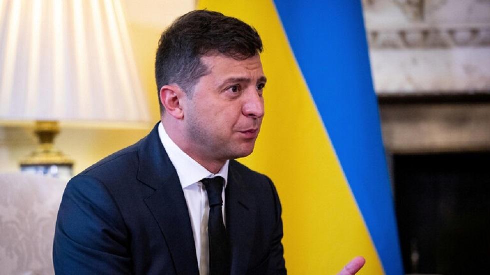 زيلينسكي لا يستبعد ظهور شكل آخر من المفاوضات حول التسوية في دونباس