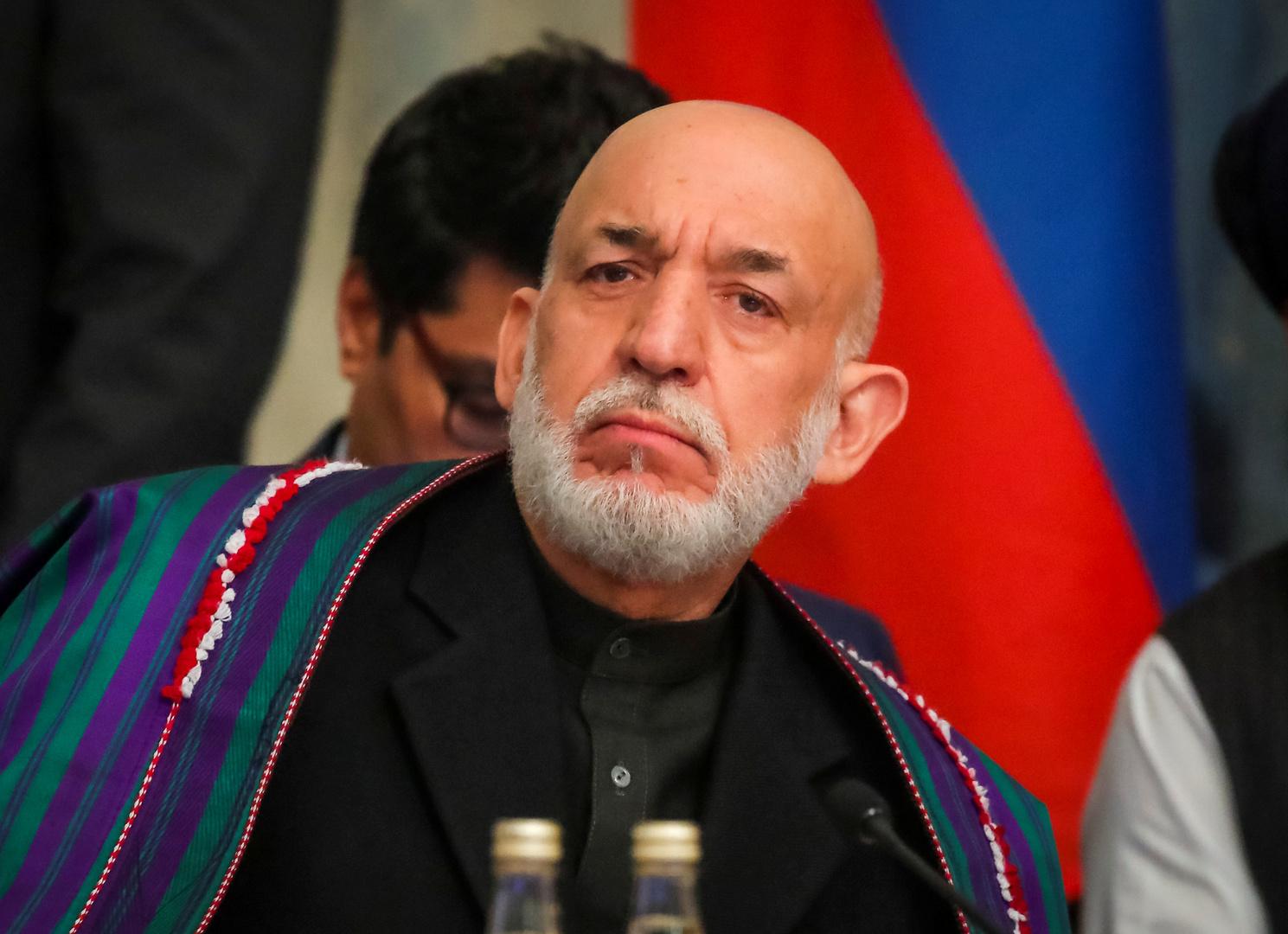 كرزاي: الوضع الحالي في أفغانستان هو نتيجة فشل الحرب الأمريكية