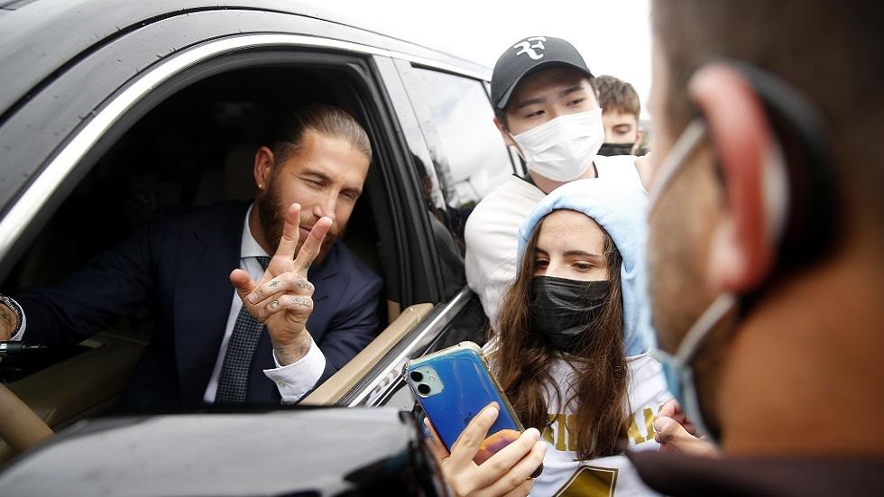 راموس يجتاز الفحص الطبي في باريس سان جيرمان