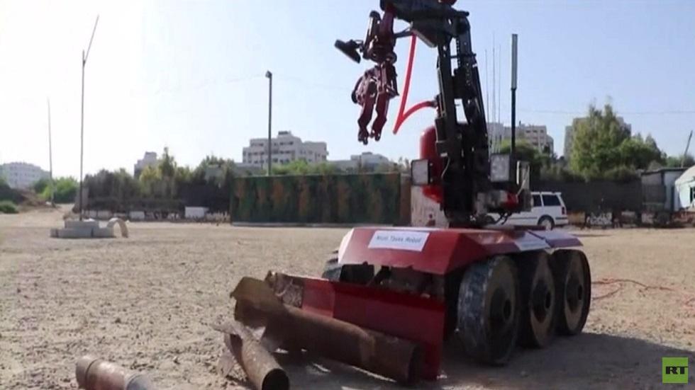 غزة.. ابتكار روبوت للاستخدامات الخطيرة