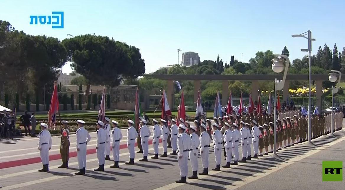 الرئيس الإسرائيلي الجديد يؤدي اليمين الدستورية