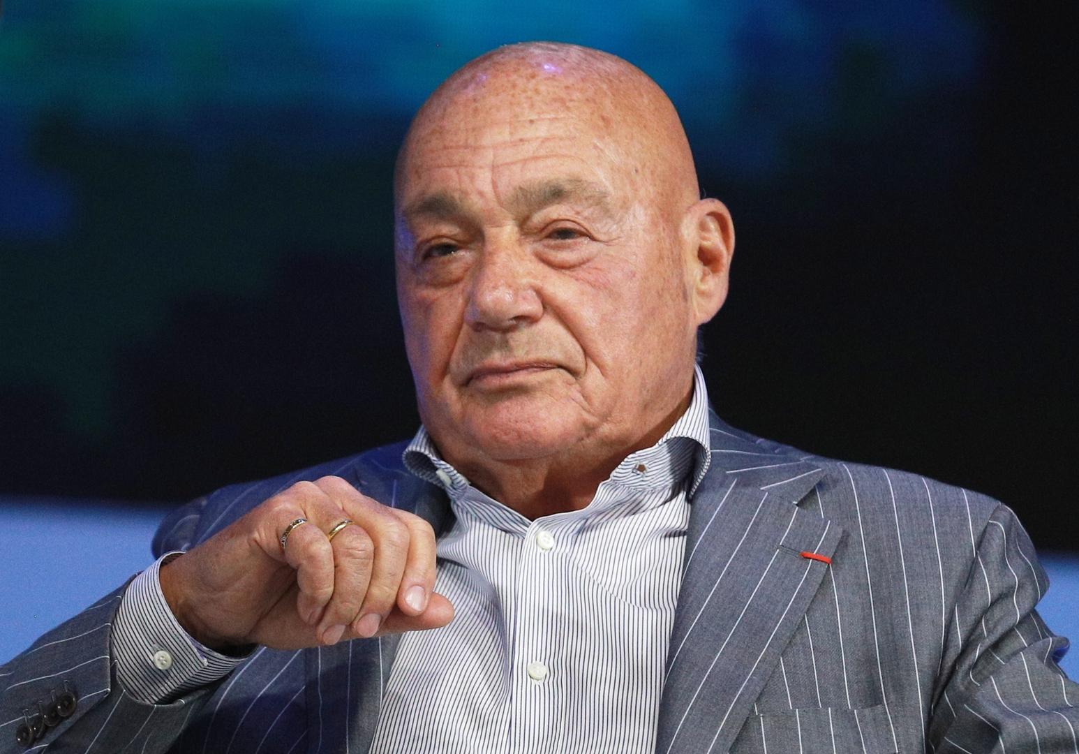 الصحفي والمقدم التلفزيوني الروسي فلاديمير بوزنر