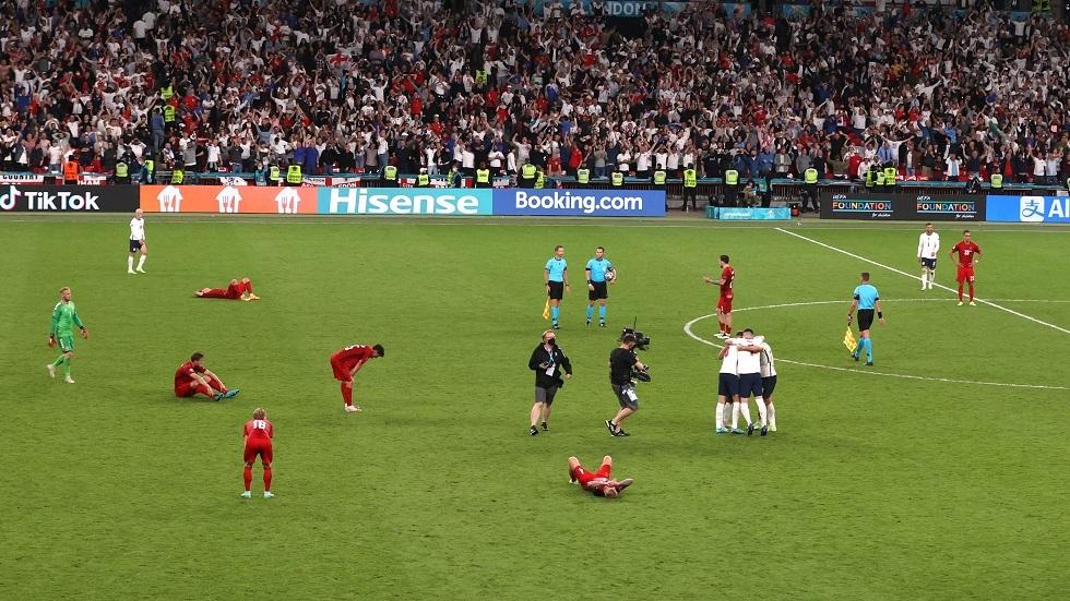 لأول مرة في التاريخ.. إنجلترا تبلغ نهائي كأس أمم أوروبا (فيديو)