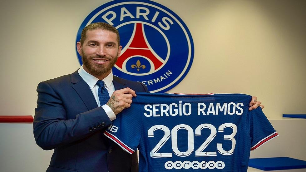 رسميا.. باريس سان جيرمان يتعاقد مع راموس