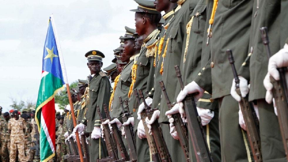 عناصر من جيش دولة جنوب السودان
