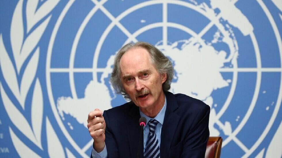 المبعوث الأممي الخاص إلى سوريا، غير بيدرسون.