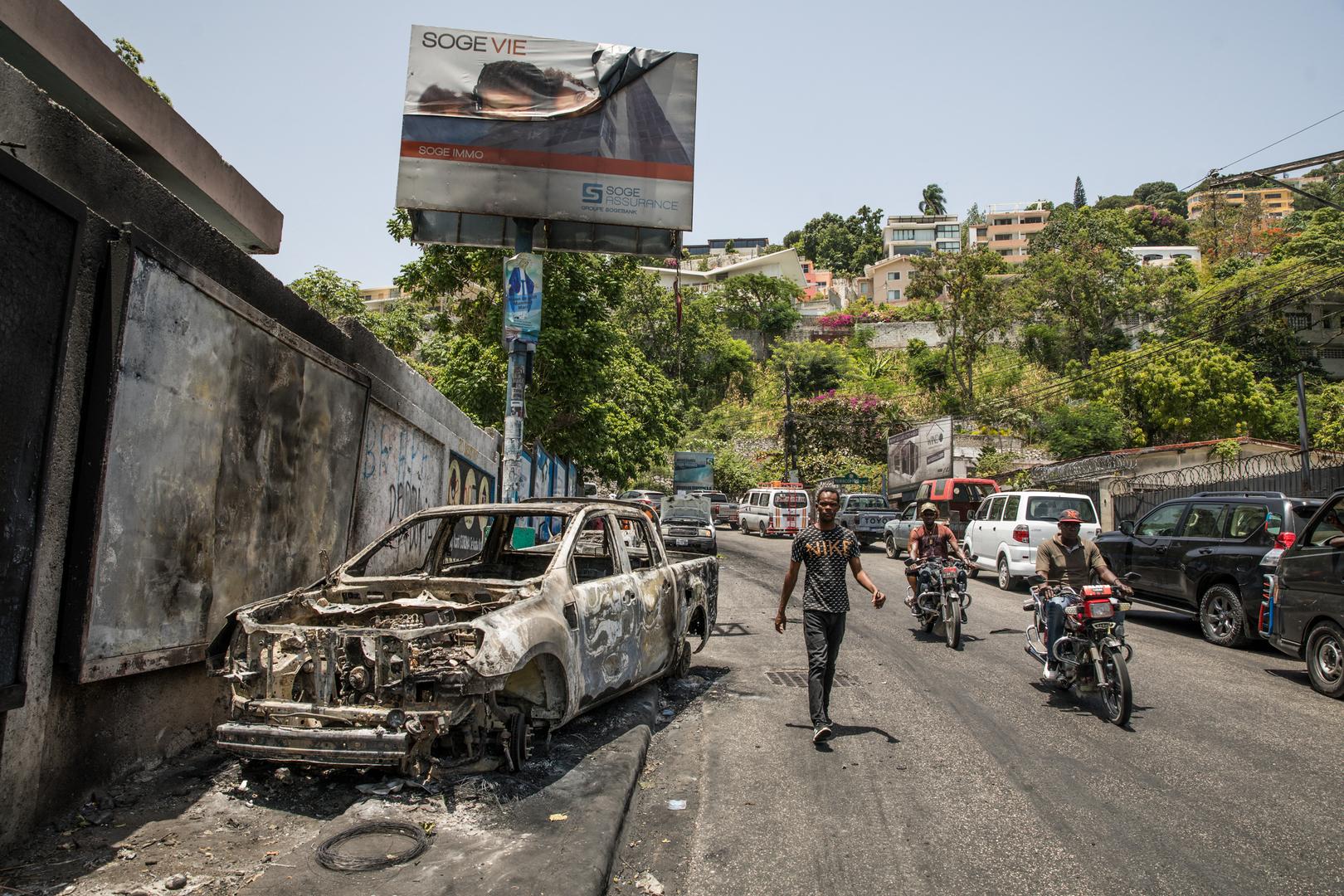 هايتي تطلب من الأمم المتحدة إرسال قوات لضمان الأمن في البلاد